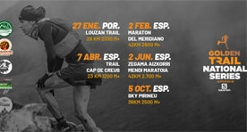 Salomon Golden Trail National Series arrancam com o Louzantrail