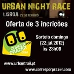 Urban Night Race em Lisboa e Porto
